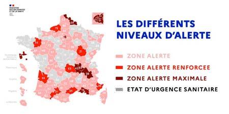COVID 19 : carte France