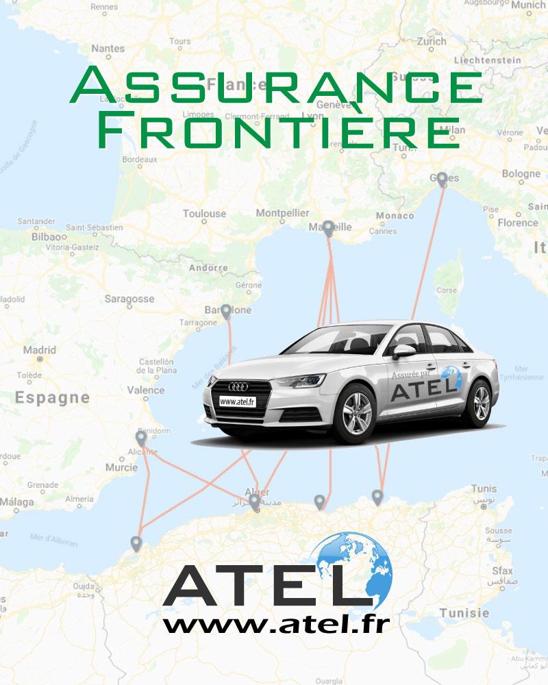 Assurance frontière Algérie par ATEL