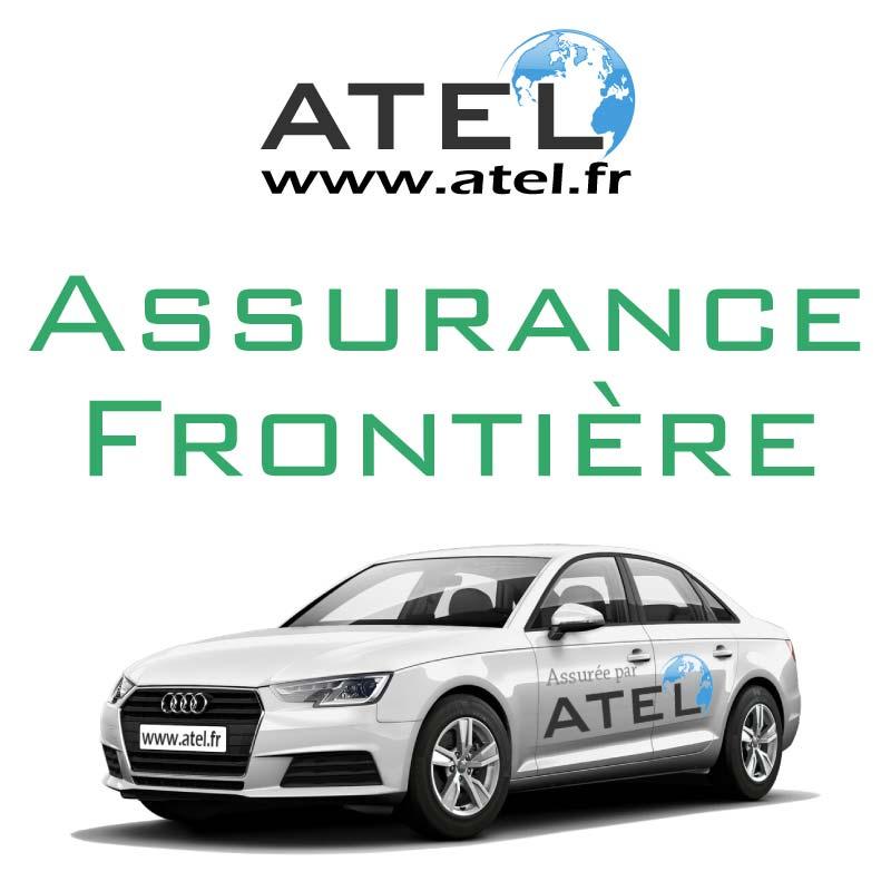 Assurance frontière temporaire - voiture assurée par ATEL